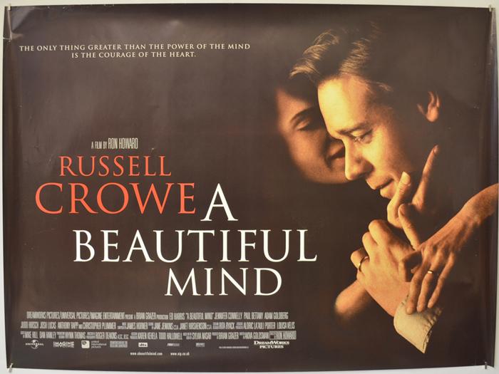 A Beautiful Mind – 2hr 16min, 2001
